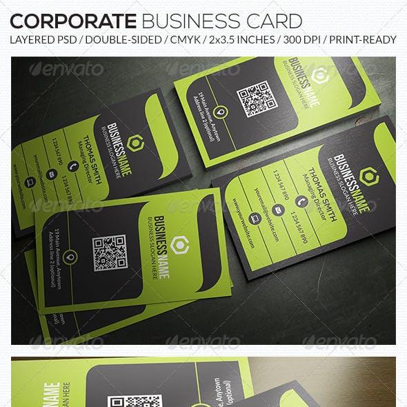 Corporate Business Card - RA52
