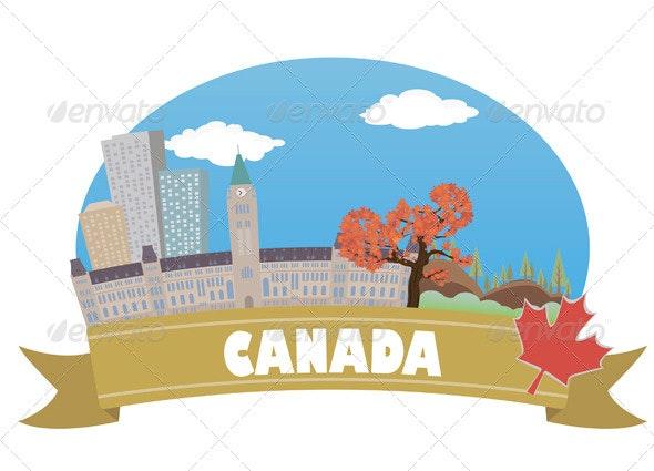 Canada. Tourism and Travel - Travel Conceptual
