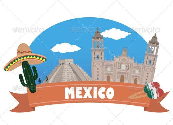 Mexico. Tourism and Travel - Travel Conceptual