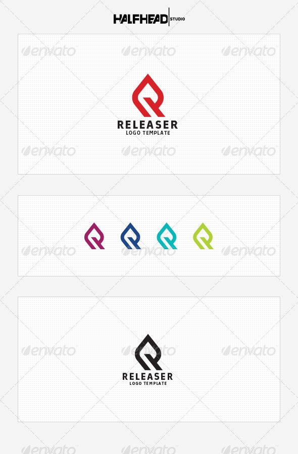 Releaser Logo Template - Letters Logo Templates