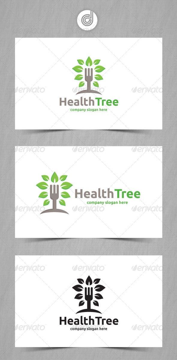 Health Tree - Nature Logo Templates