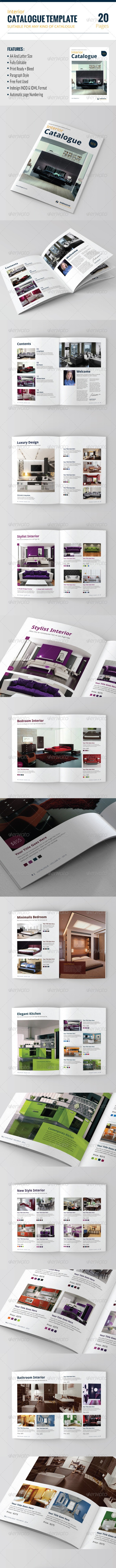Catalog Template Vol. 01 - Catalogs Brochures