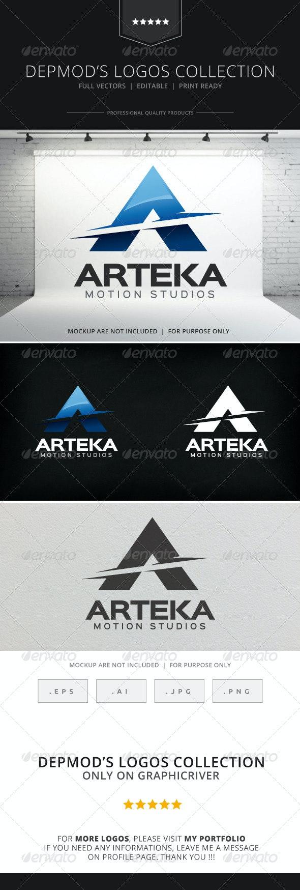 Arteka Logo - Letters Logo Templates