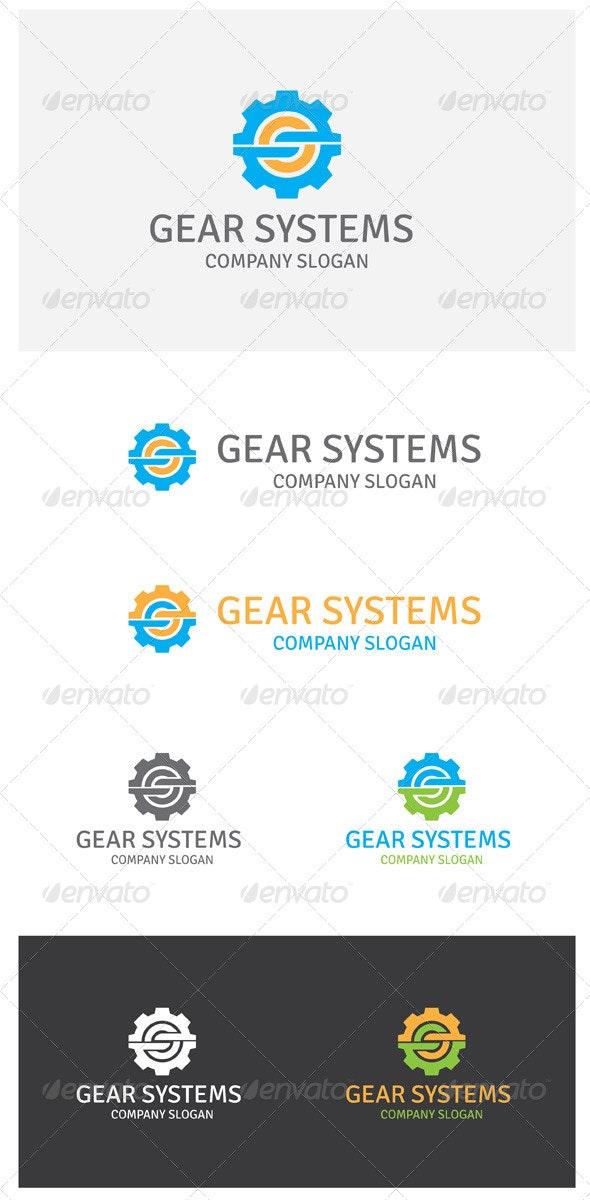 Gear Systems - Symbols Logo Templates