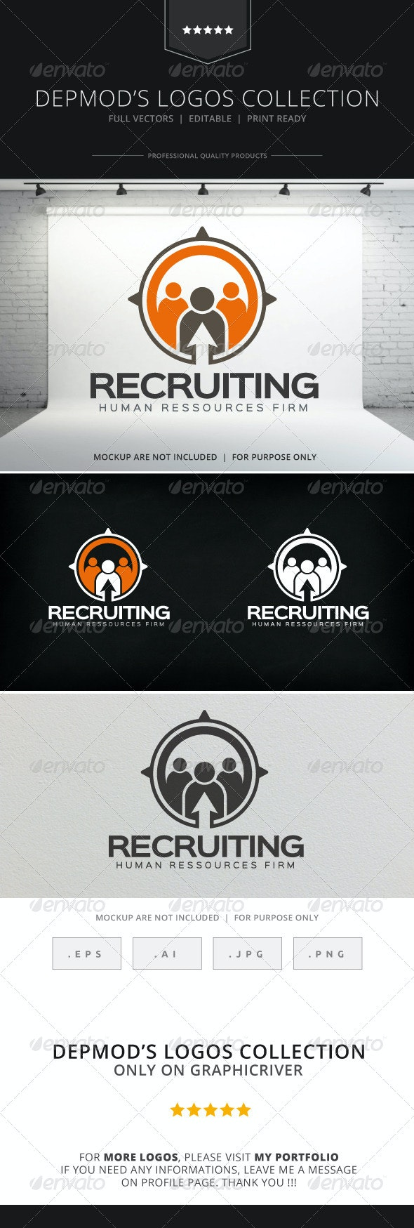 Recruiting Logo - Humans Logo Templates