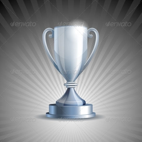 Silver Trophy Cup - Sports/Activity Conceptual