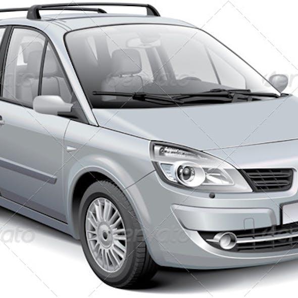 French Silver MPV