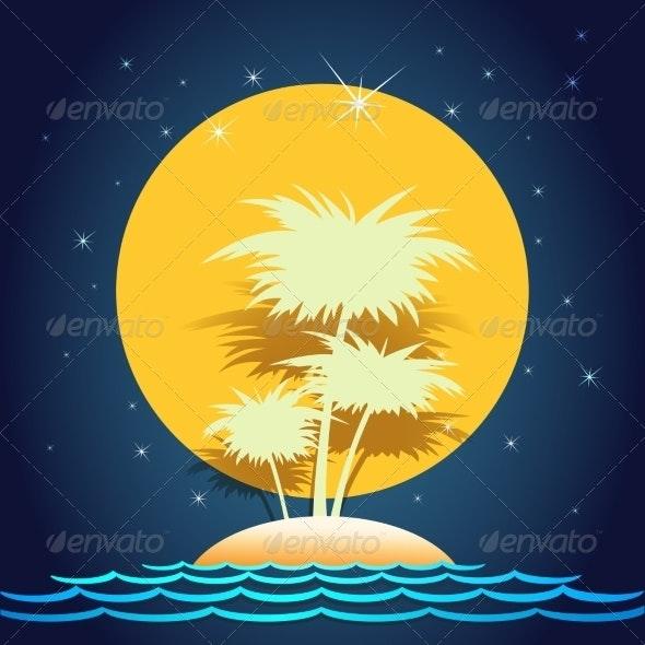 Summer Island - Landscapes Nature