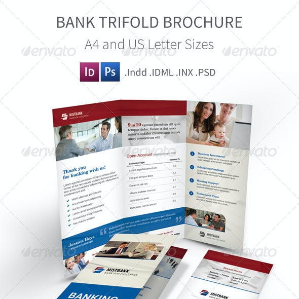 Bank Trifold Brochure