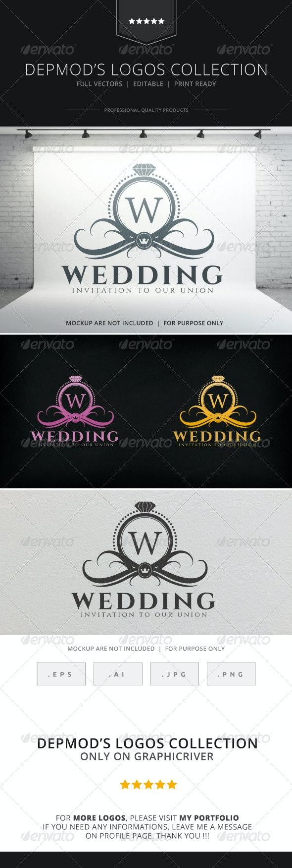 Wedding Logo - Crests Logo Templates