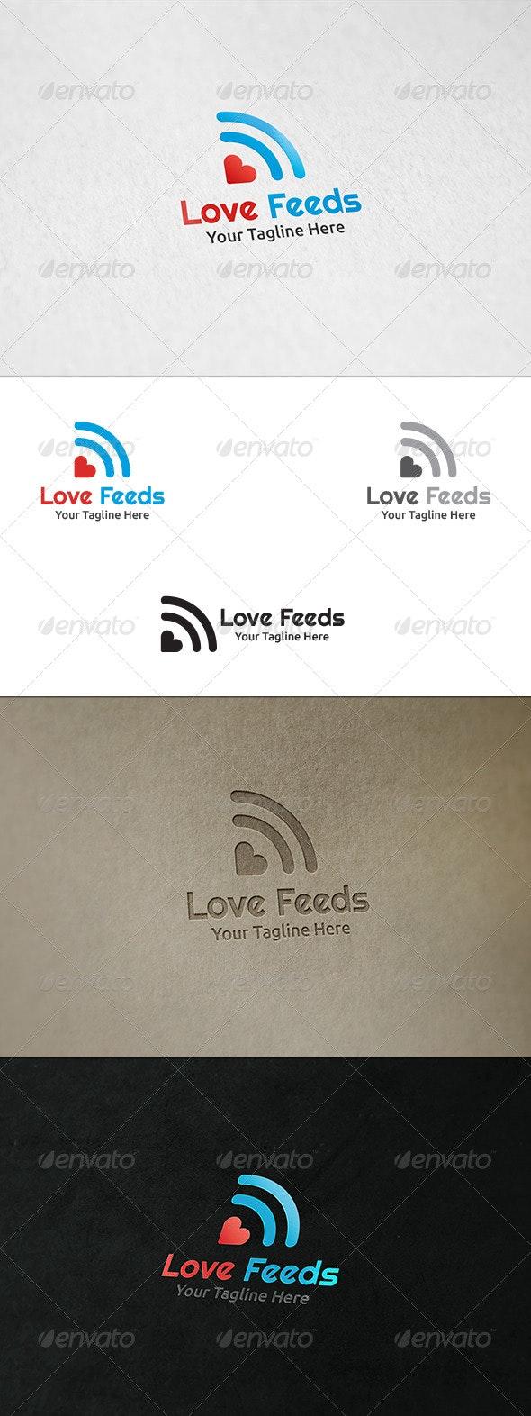 Love Feeds - Logo Template - Symbols Logo Templates