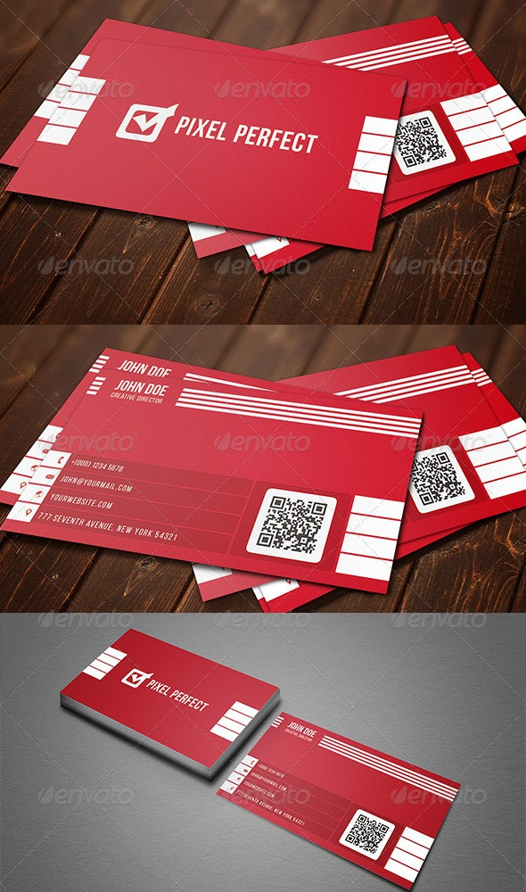 Corporate Minimal Business Card - Corporate Business Cards
