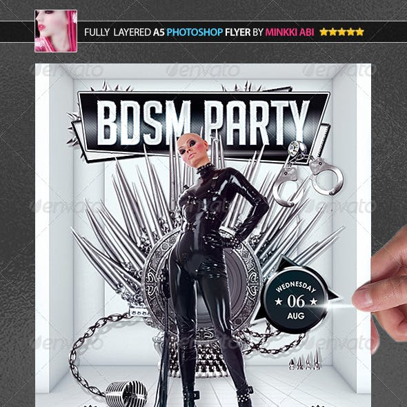 BDSM Party Poster/Flyer