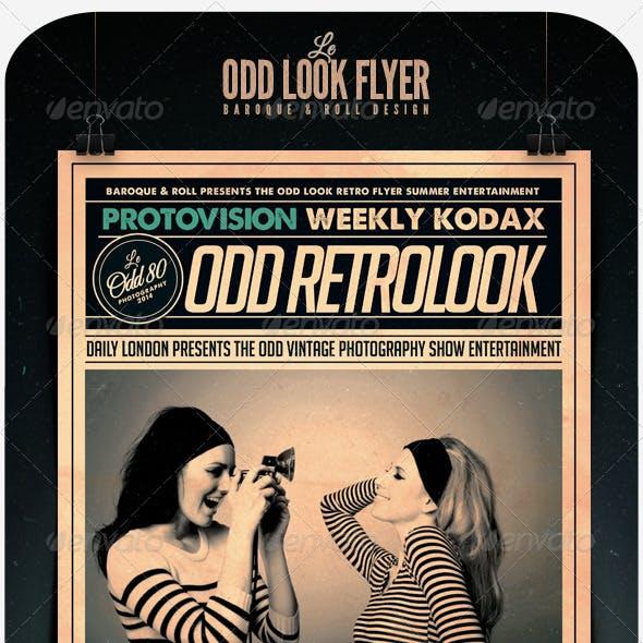 Odd Look Flyer
