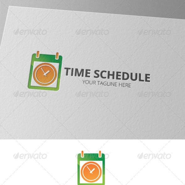 Time Schedule Calendar Logo