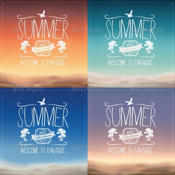 Summer Backgrounds - Backgrounds Business