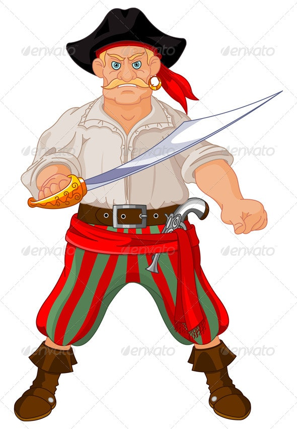 Armed Pirate - People Characters