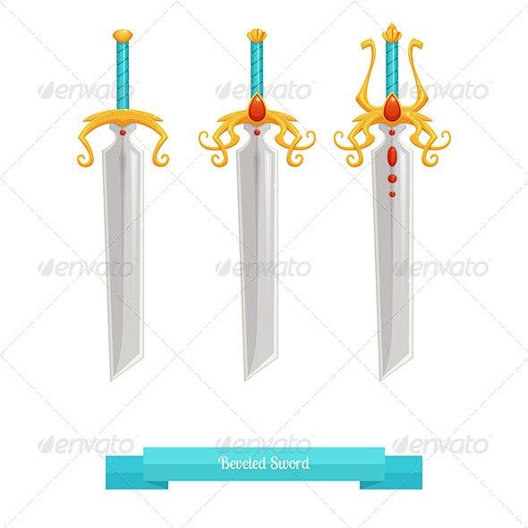 Sharp Sword - Objects Vectors