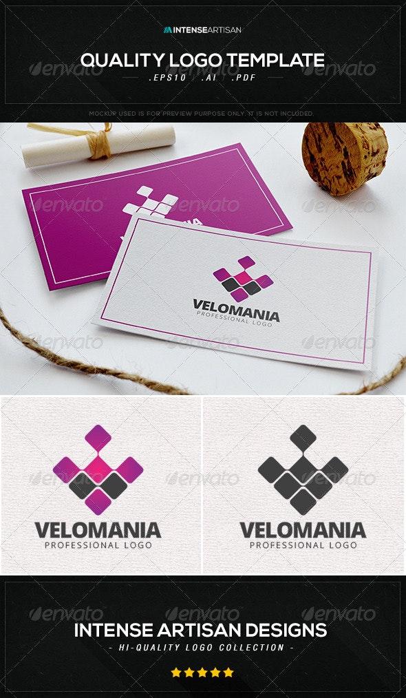 Velomania Logo Template - Abstract Logo Templates