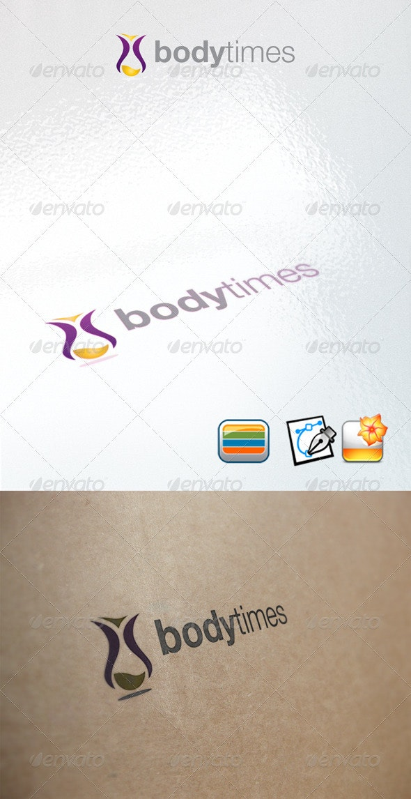 Bodytimes - Objects Logo Templates