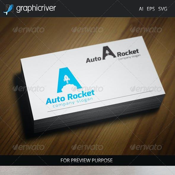 Auto Rocket Logo