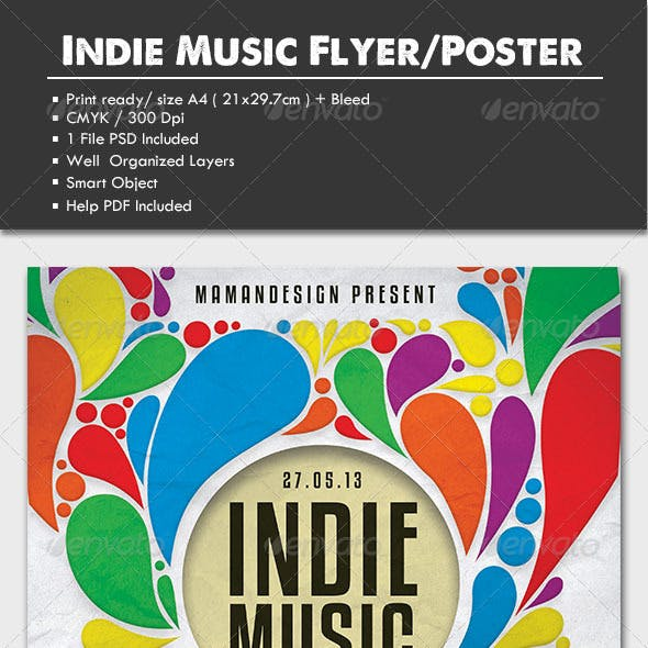 Indie Music Flyer/Poster