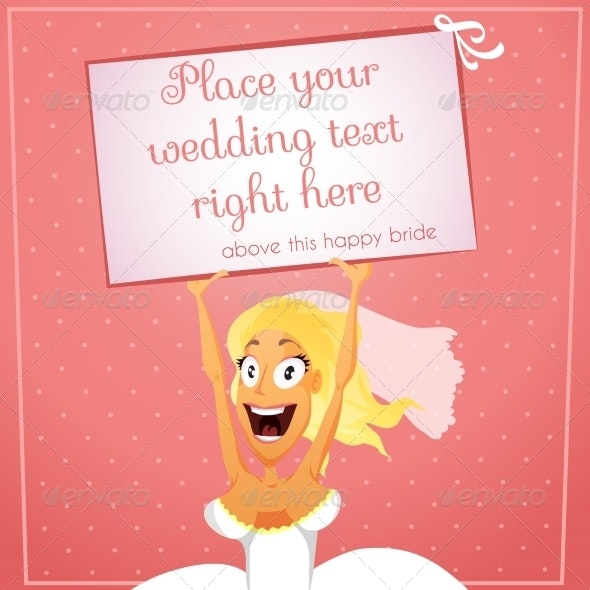 Bride with Text - Weddings Seasons/Holidays