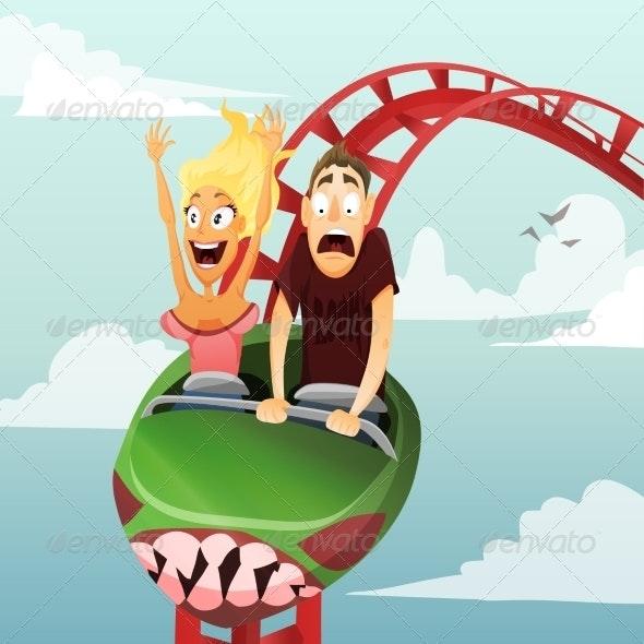 Roller Coaster - Sports/Activity Conceptual