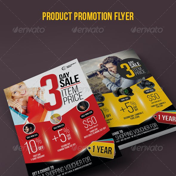 Discount Product Offer Flyer / Poster