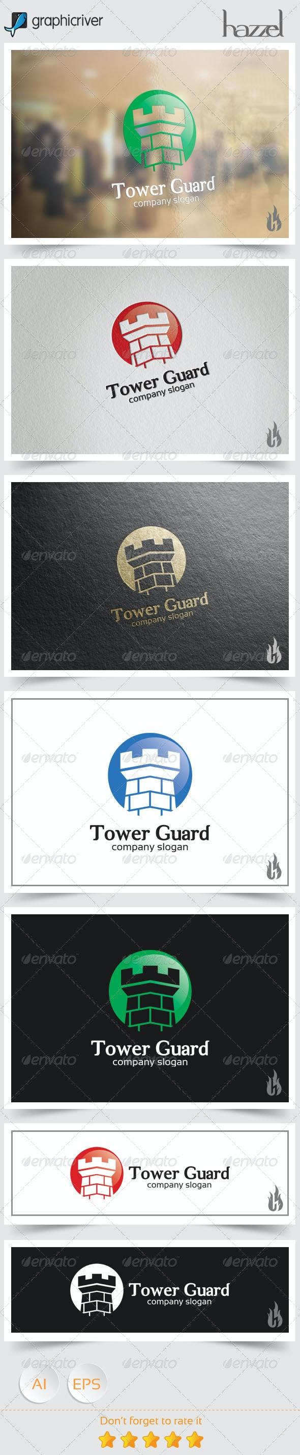 Tower Guard Logo - Crests Logo Templates