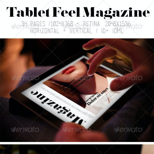 iPad & Tablet Feel Magazine