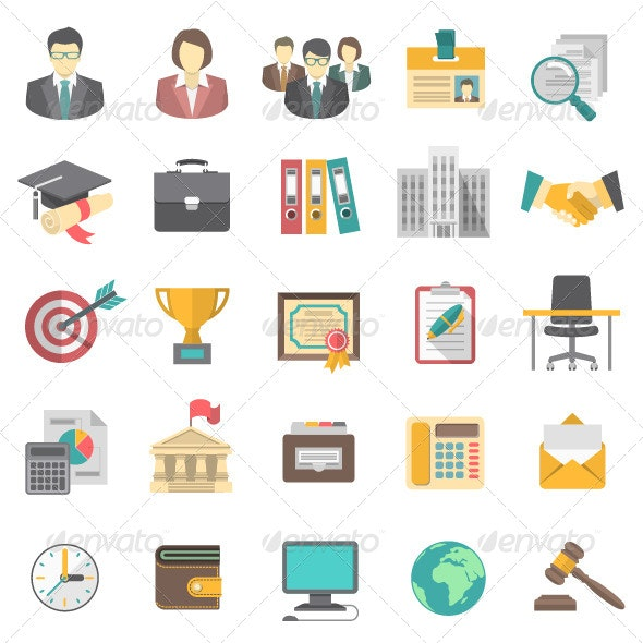 Resume Icons - Business Icons