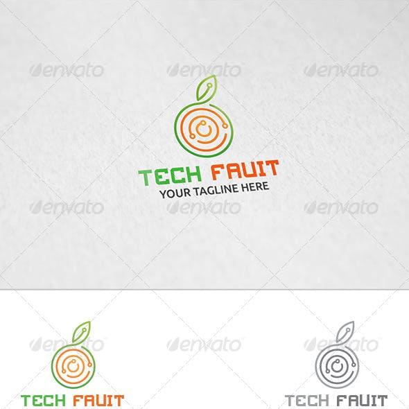 Tech Fruit - Logo Template