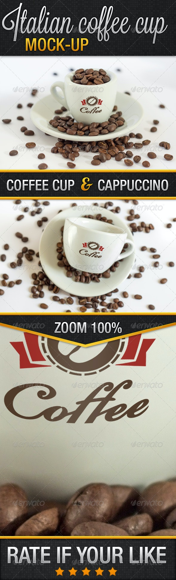 Italian Coffee Cup 01 - Food and Drink Packaging