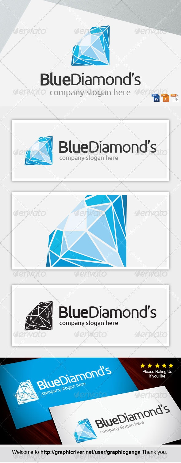 BlueDiamond's - Abstract Logo Templates