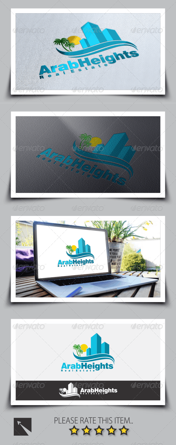 Real Estate Building Logo Template - Buildings Logo Templates