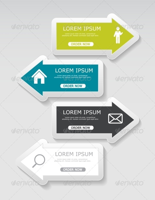 Infographic Templates for Business - Web Technology
