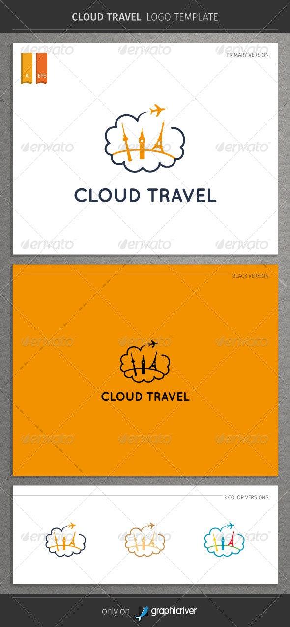 Cloud Travel Logo - Objects Logo Templates