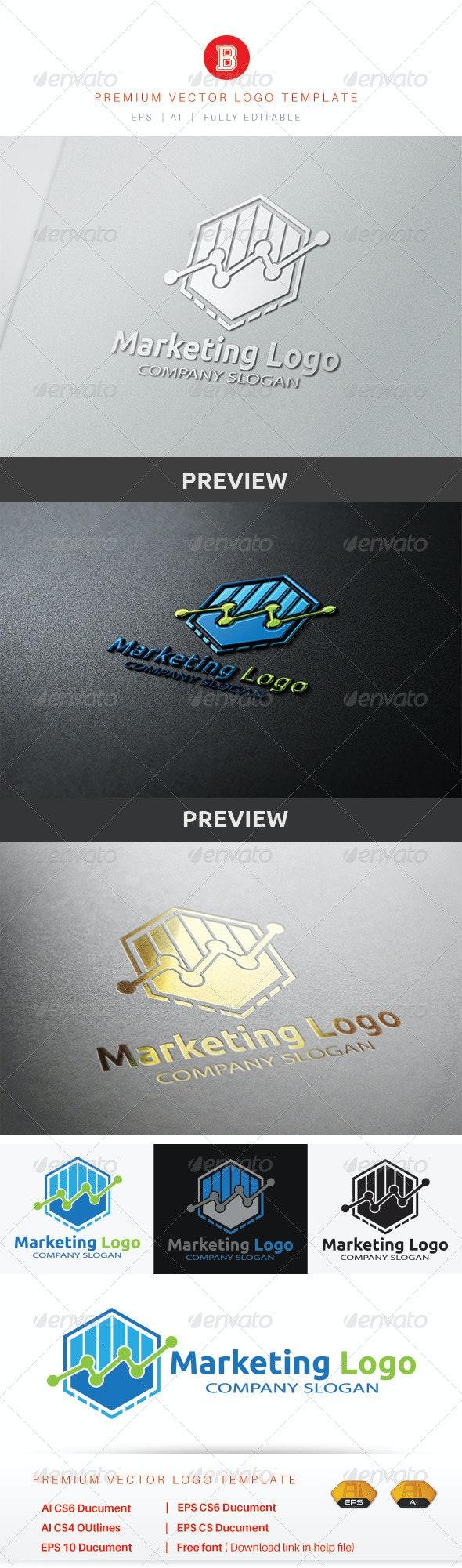 Marketing Logo - Symbols Logo Templates