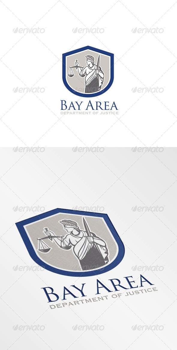 Bay Area Department of Justice Logo - Humans Logo Templates