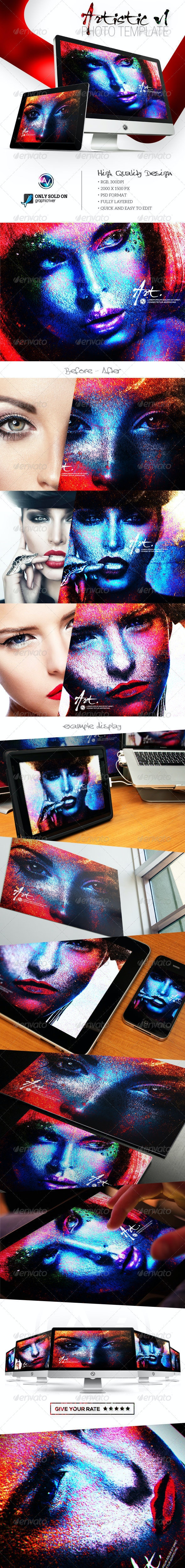 Artistic Photo Template V1 - Artistic Photo Templates