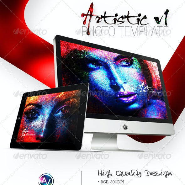Artistic Photo Template V1