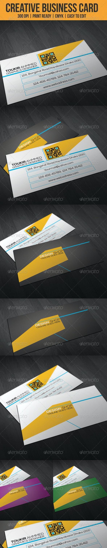 Simple Creative Business Card - Creative Business Cards