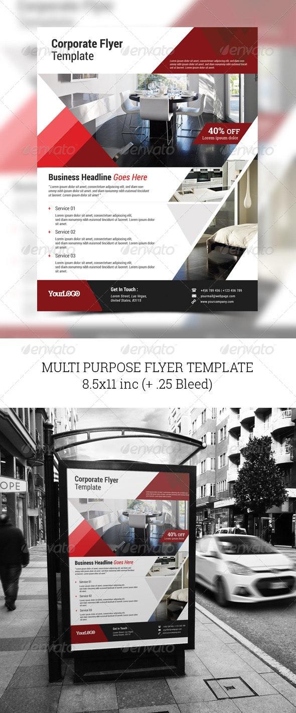 Multi Purpose Flyer Template - Corporate Flyers
