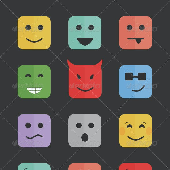 32 Smiley Emotions
