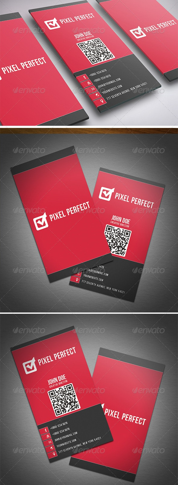 Corporate Double Sided Business Card - Corporate Business Cards