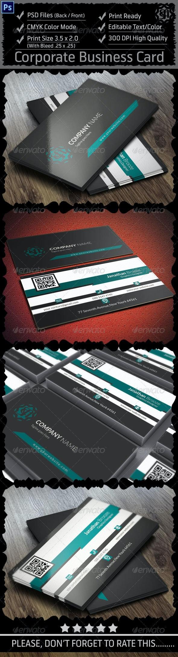 Corporate Business Card Vol: 10 - Corporate Business Cards