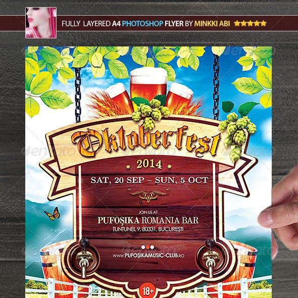 Oktoberfest Party Poster/Flyer