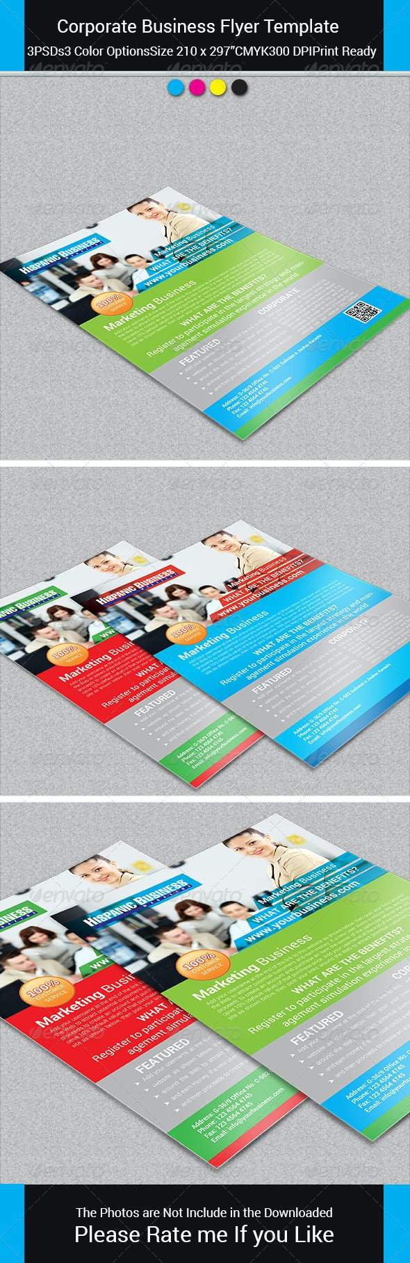 Corporate Business Flyer Template vol-25 - Corporate Flyers