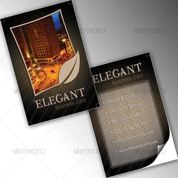 Elegant Business Card - Creative Business Cards